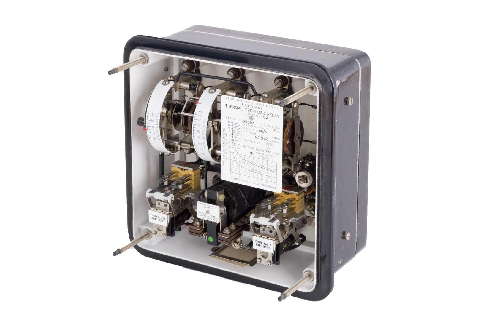 P&B GOLDS Electromechanical Thermal Protection Relay Retrofit