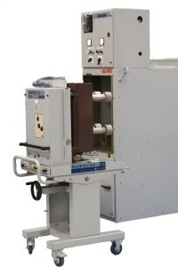P&B Hawkvac 15 circuit breaker and panel