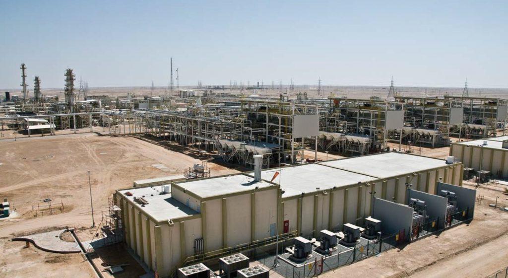 PDO saih rawl gas site